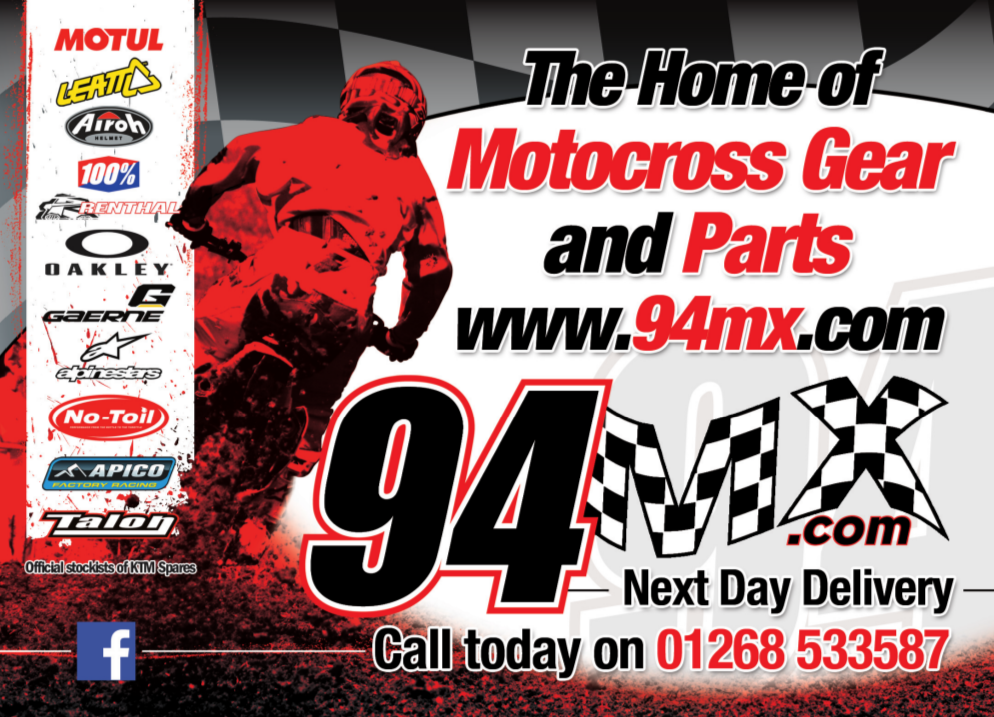 advertisement for 94MX